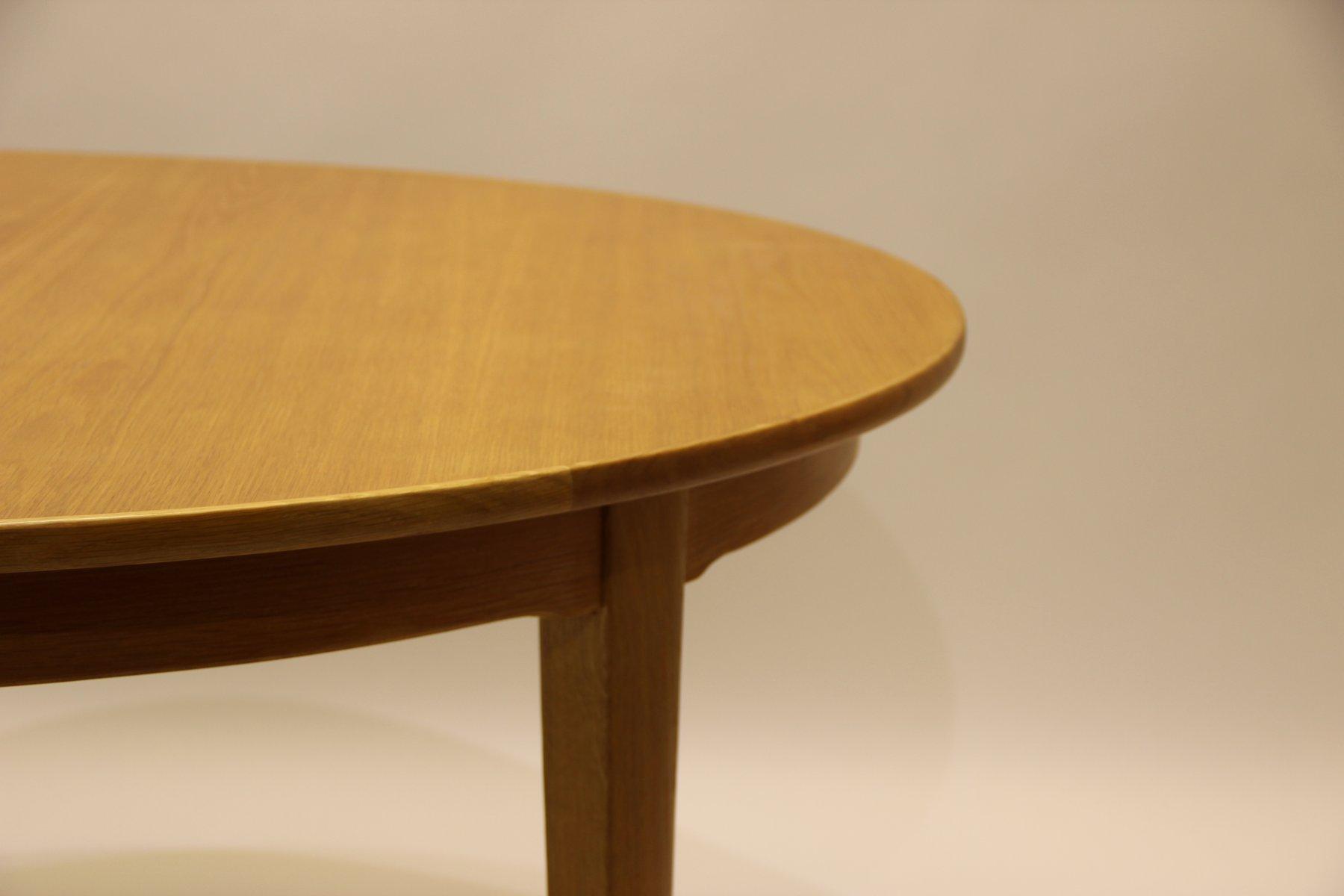 Vintage Oak Dining Table Vintage Model 55 Oak Dining Table By Gunni Omann For Omann Jun For