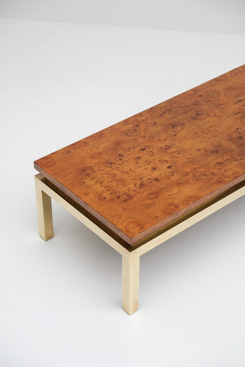 Burl Wood Coffee Table 1970s For Sale At Pamono