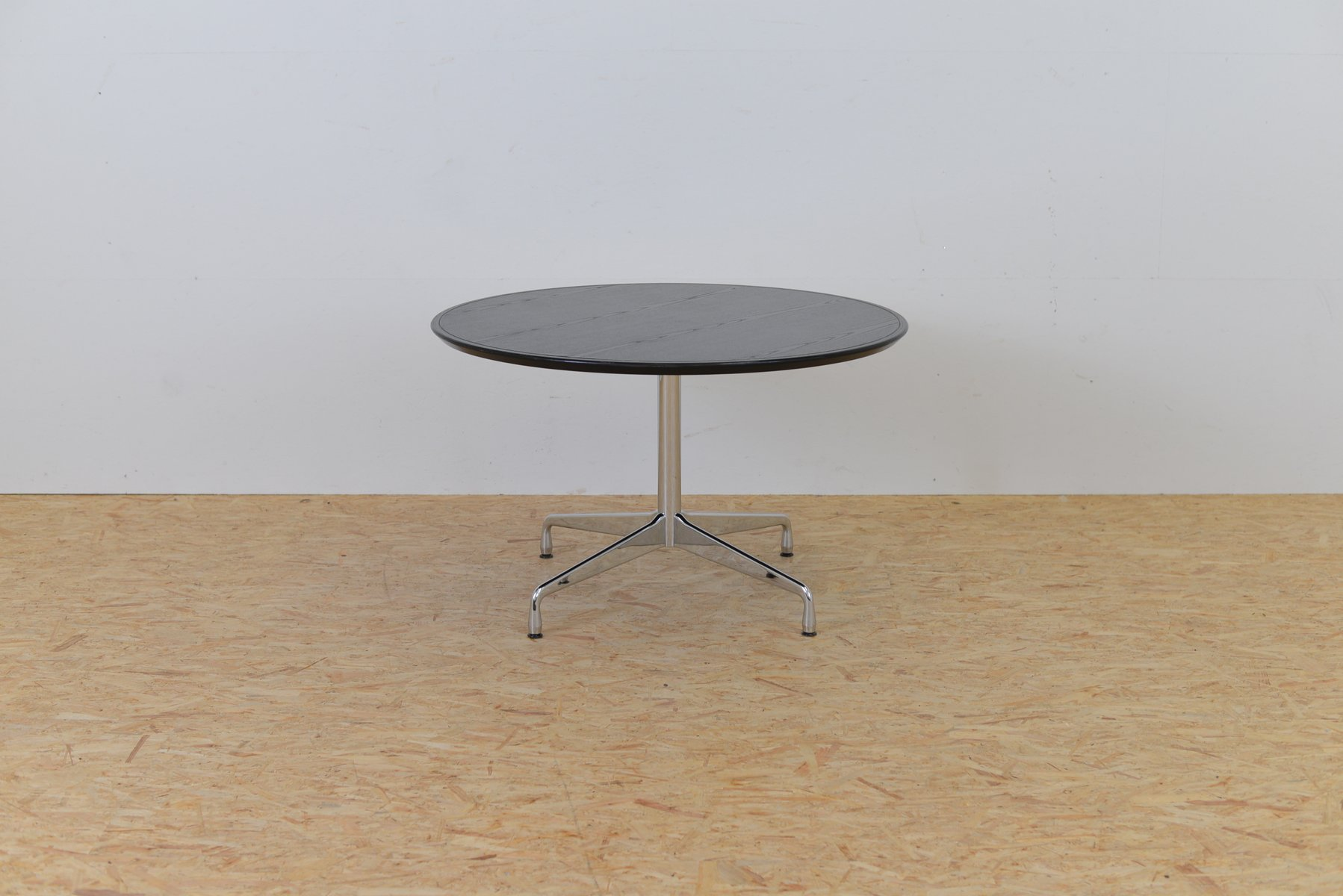 Mid Century Ash Segmented Table by Charles & Ray Eames for Vitra