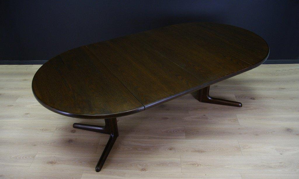 ausziehbarer dänischer vintage eichenholz esstisch von skovby, Esszimmer dekoo