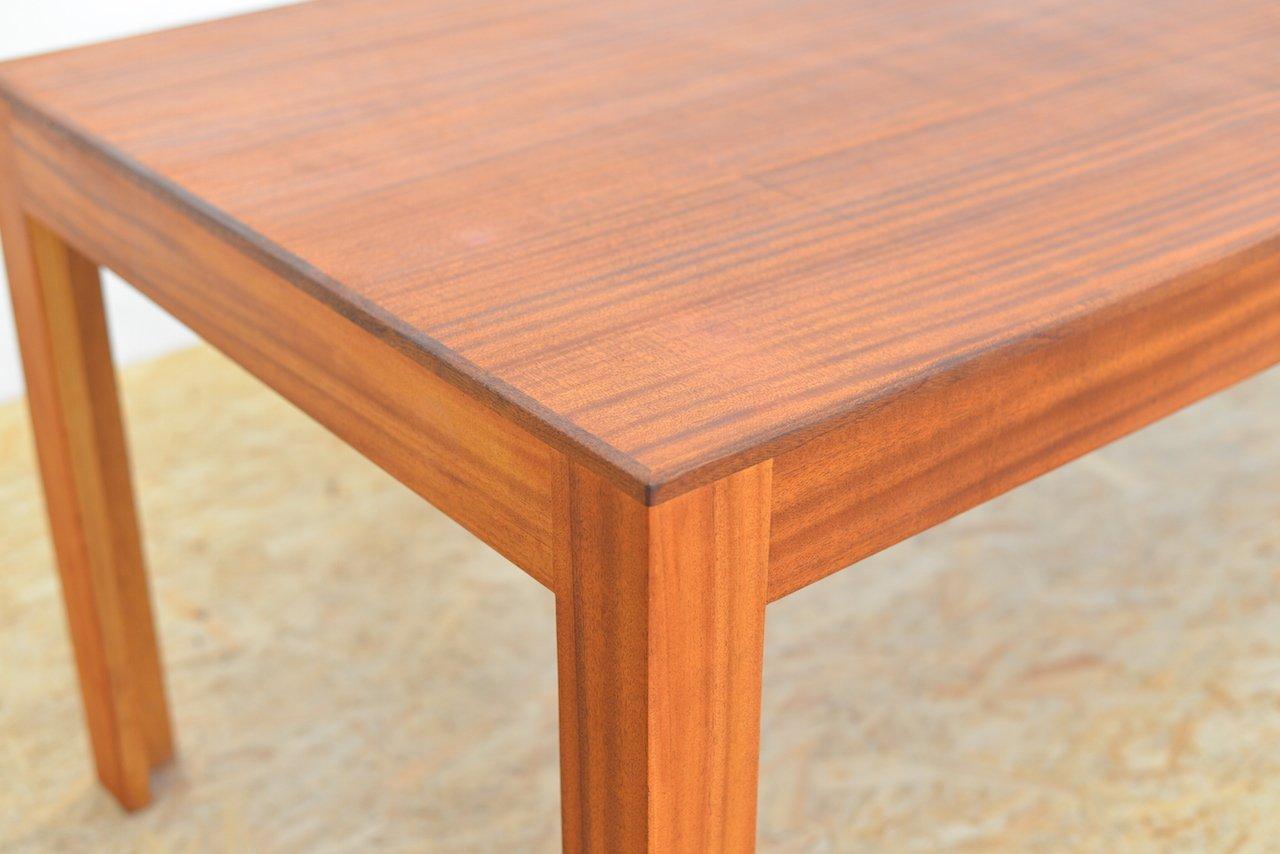 vintage ulmenholz furnier tisch bei pamono kaufen. Black Bedroom Furniture Sets. Home Design Ideas