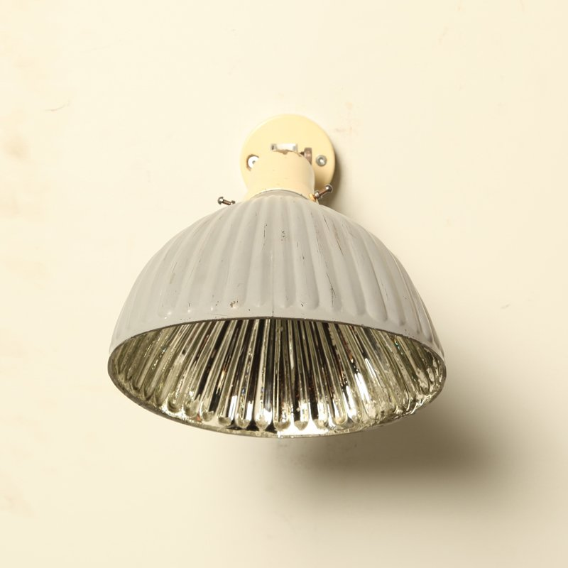 Wall Lamps For Paintings : Art Deco Silver Glass Wall Lamps, 1920s, Set of 2 for sale at Pamono