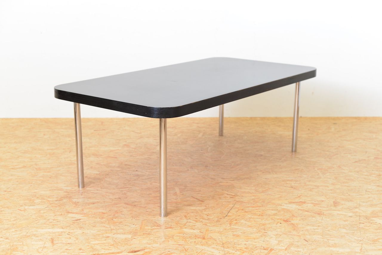 Vintage black table by marcel breuer for embru wohnbedarf for price per piece geotapseo Images