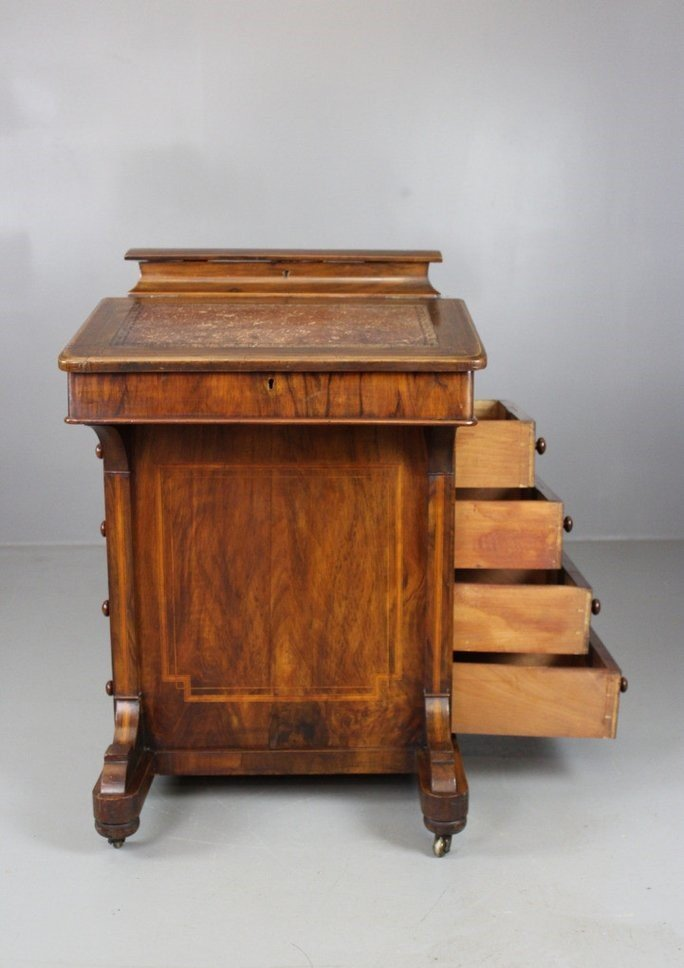 Antique Victorian Walnut Davenport Desk 12. $1,251.00. Price per piece - Antique Victorian Walnut Davenport Desk For Sale At Pamono