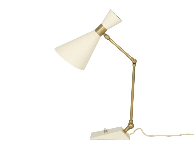 Mid century italian adjustable table lamp en venta en pamono aloadofball Image collections