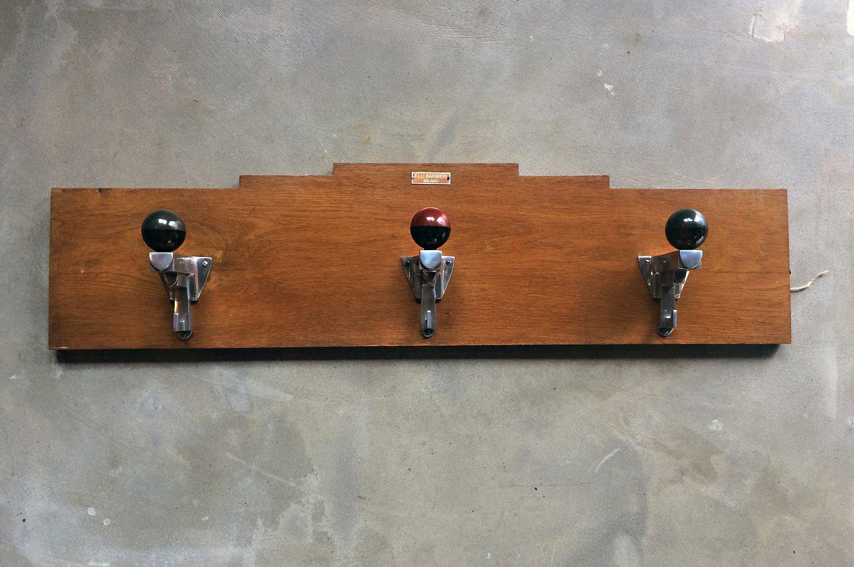 Art deco coat hooks from f lli barbieri milano for sale at for Artistic coat hooks