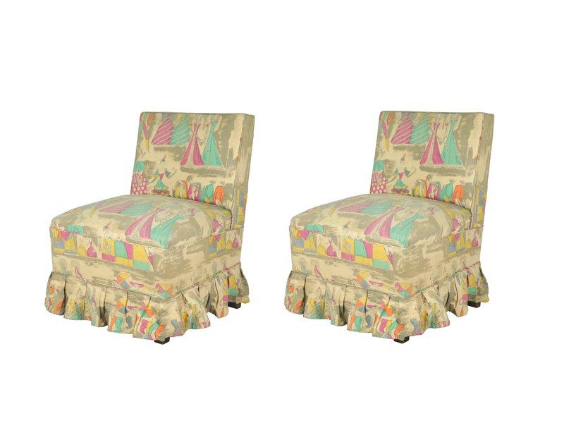 Sedie da camera da letto con stampa di gio ponti per jsa italia 1948 set di 2 in vendita su - Sedie da camera da letto ...