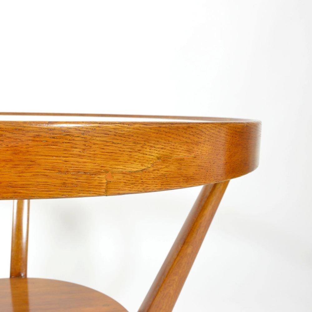 Vintage Round Coffee Table By Karel Ko Elka Anton N Krop Ek For Esk Um Leck D Lny For Sale