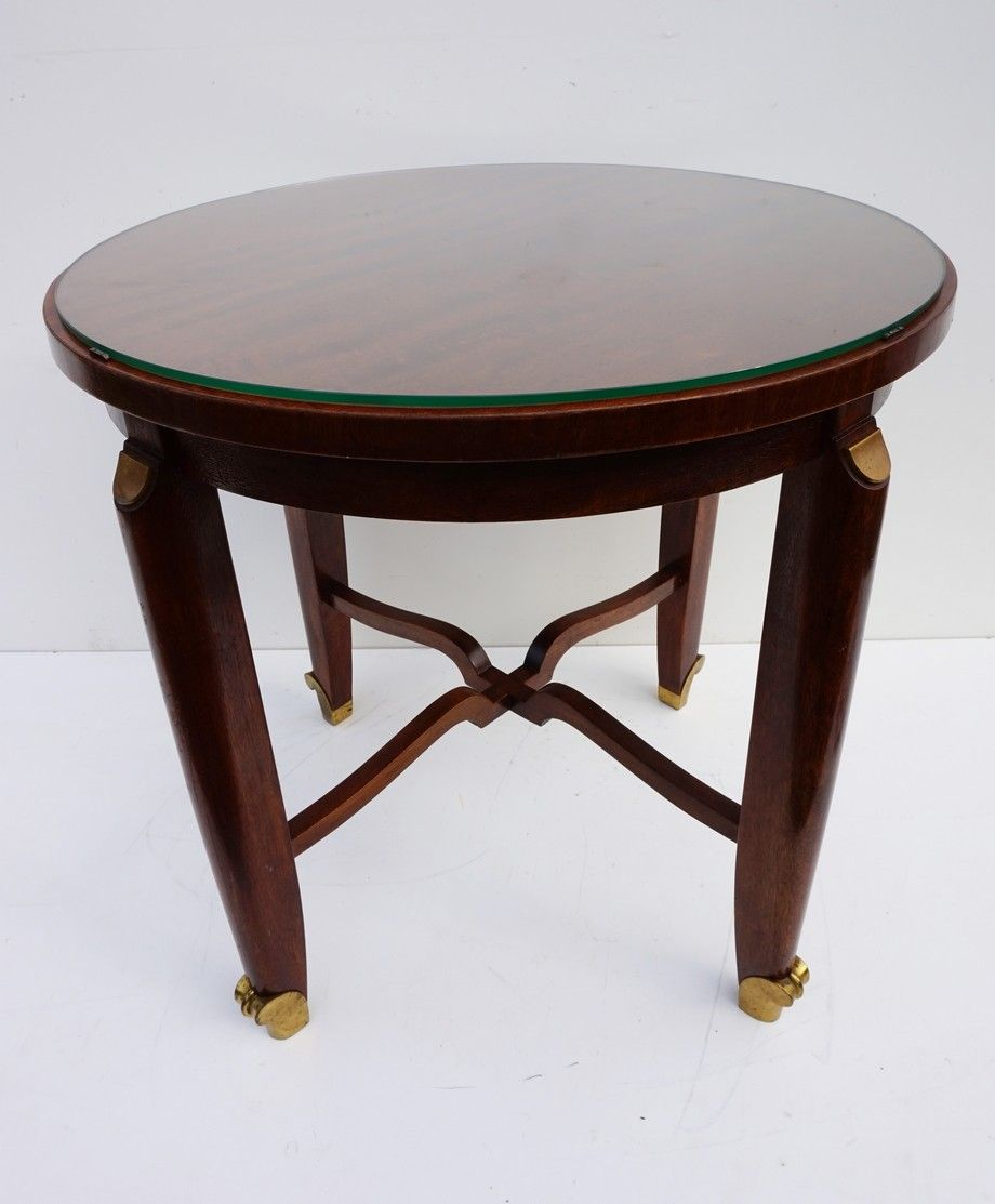 French art deco gueridon table for sale at pamono for Table gueridon