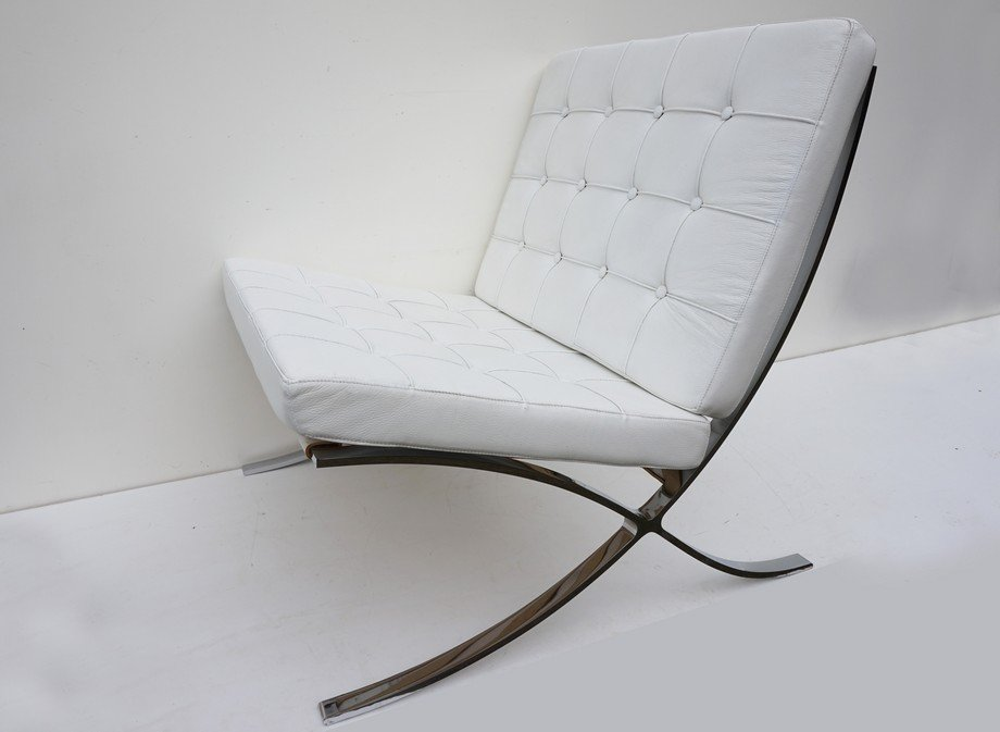 Sedia barcellona di ludwig mies van der rohe per fasem - Mies van der rohe sedia ...