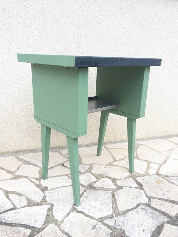 bureau pour enfant avec pieds compas en m tal 1960s en vente sur pamono. Black Bedroom Furniture Sets. Home Design Ideas