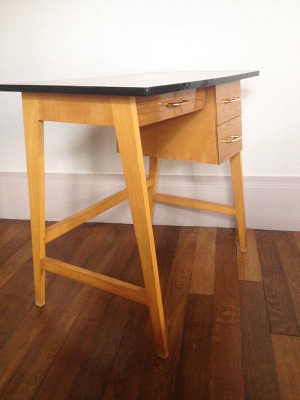 table pour enfant vintage en formica 1960s en vente sur pamono. Black Bedroom Furniture Sets. Home Design Ideas