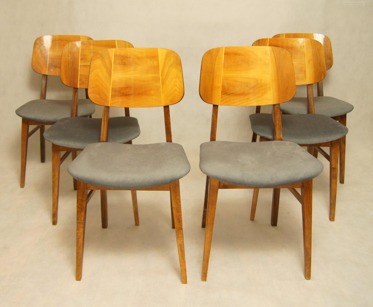 rum nische bilea st hle 1960er 6er set bei pamono kaufen. Black Bedroom Furniture Sets. Home Design Ideas