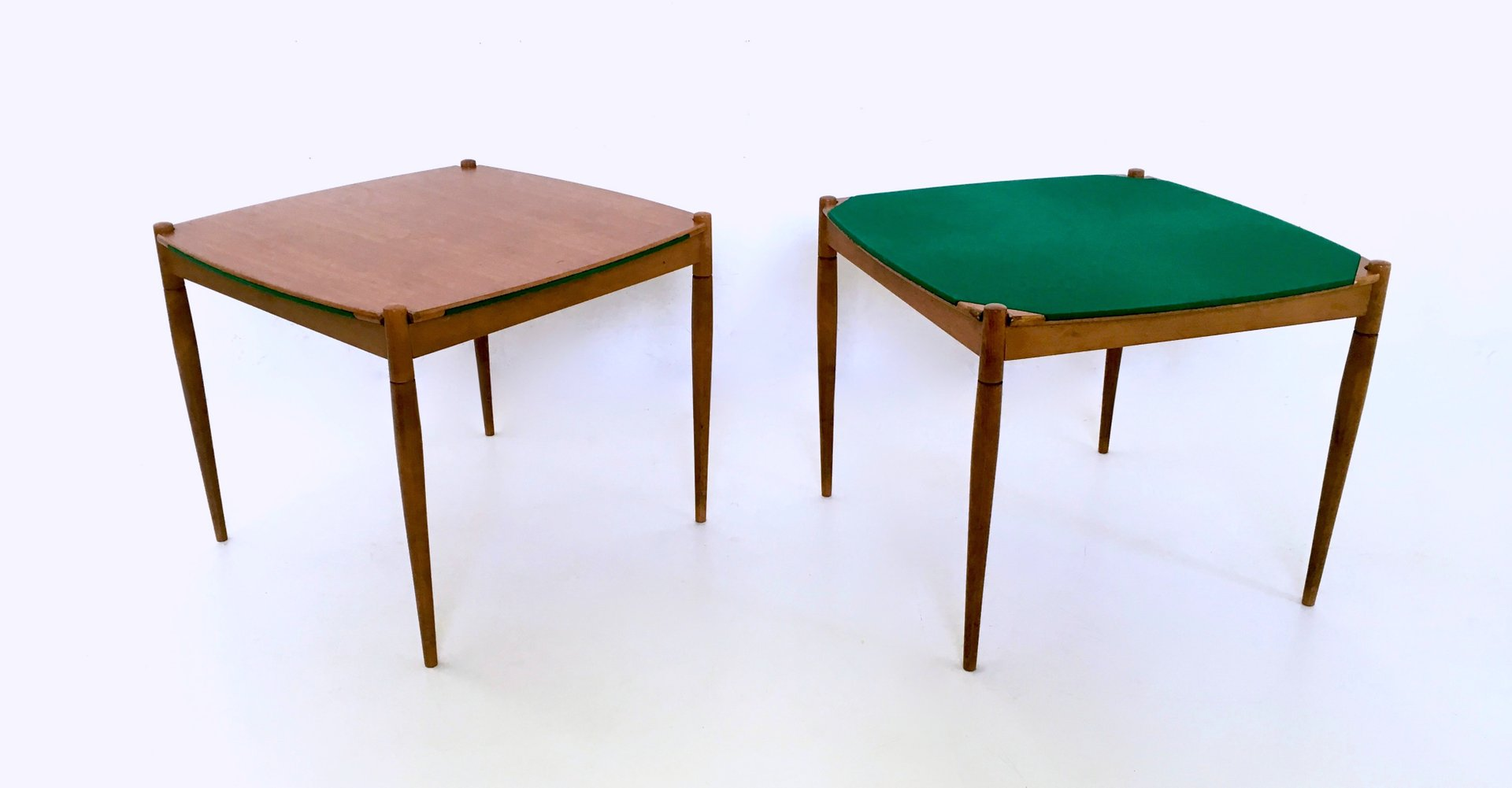 Italian Game Tables by Gio Ponti for Fratelli Reguitti 1958 Set