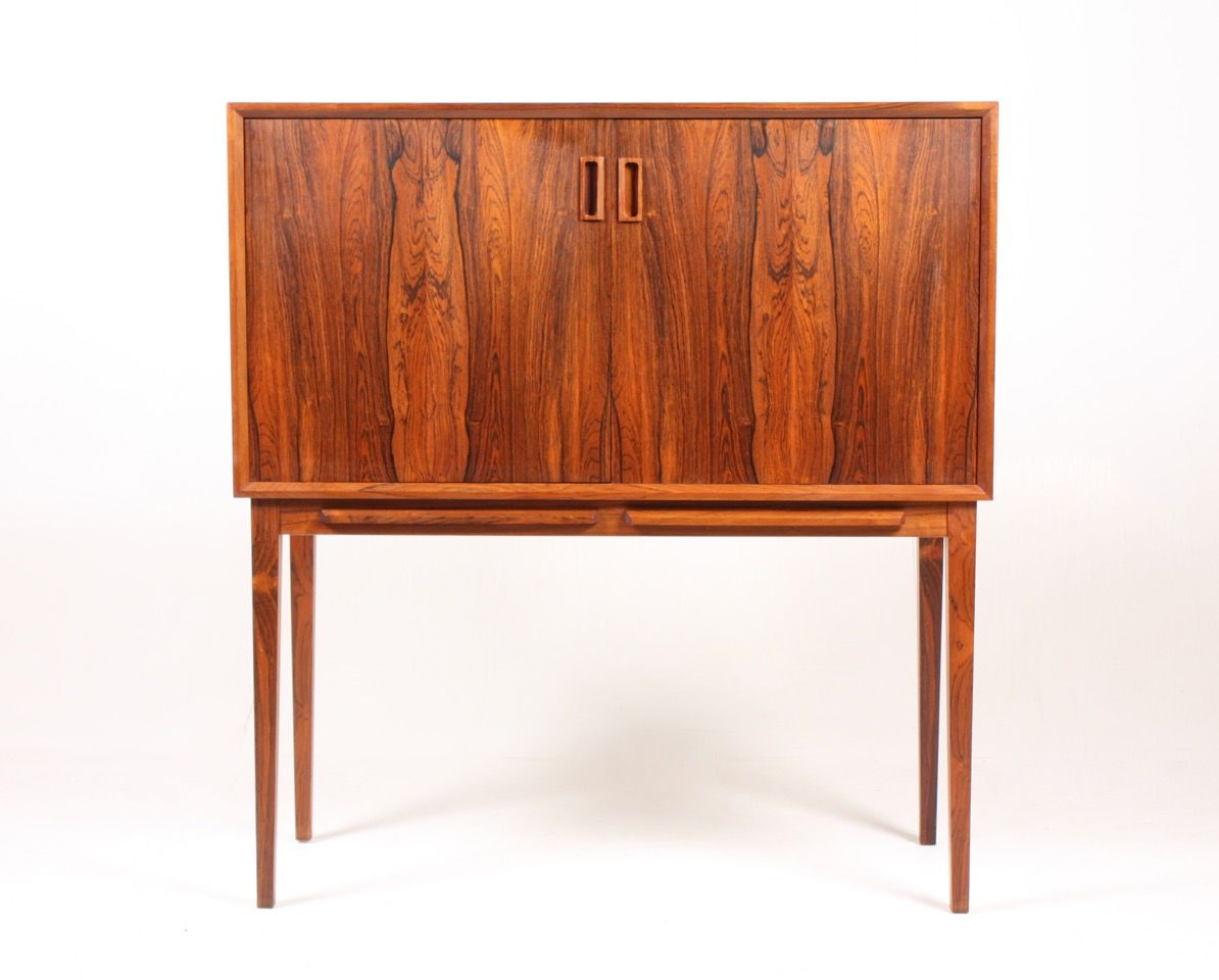 Mid Century Rosewood Dry Bar Cabinet For Sale At Pamono