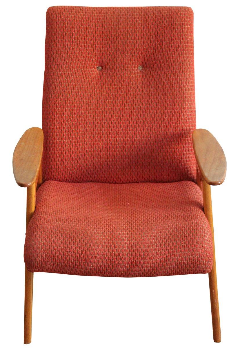 type  red armchair by jaroslav smidek for jinota  for  - price  regular price