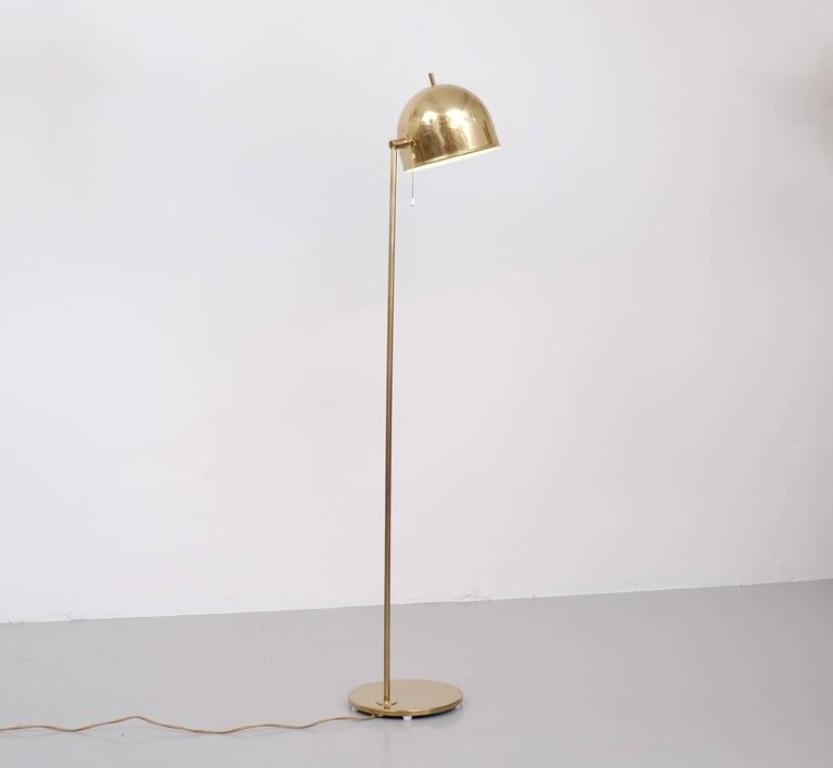 brass floor lamp amazon antique base with black shade