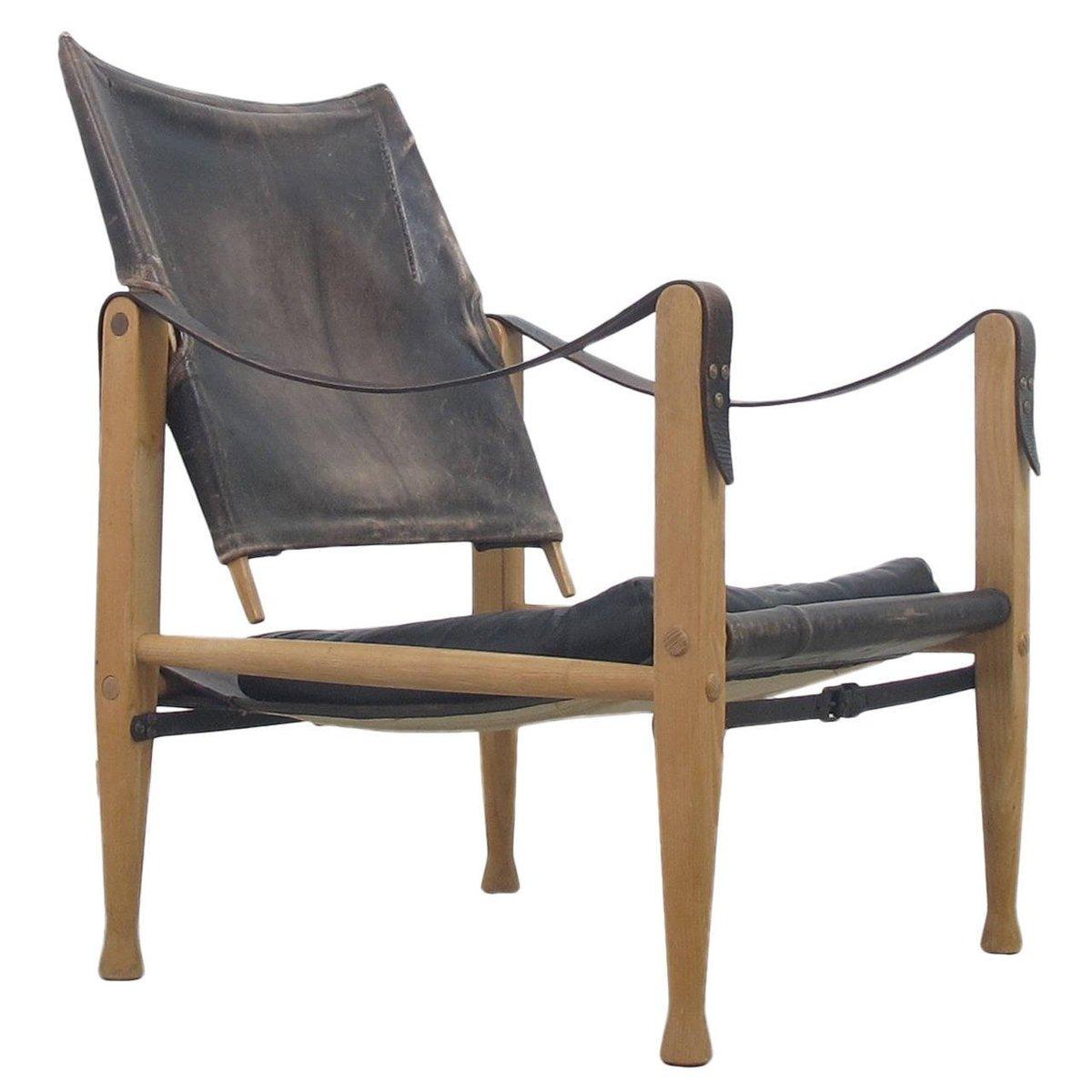 Vintage Safari Chair by Kaare Klint for Rud Rasmussen for