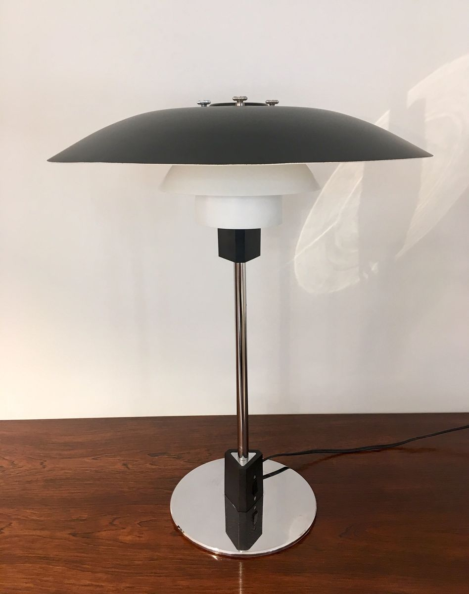 vintage model ph 4 3 table lamp by poul henningsen for. Black Bedroom Furniture Sets. Home Design Ideas