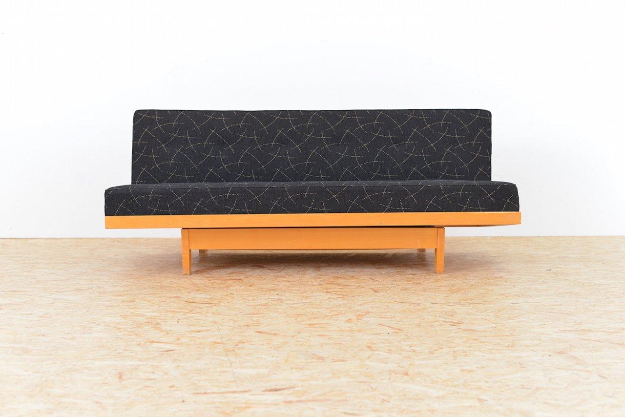 Vintage Sofa Bed By Huldreich Altorfer For Aermo
