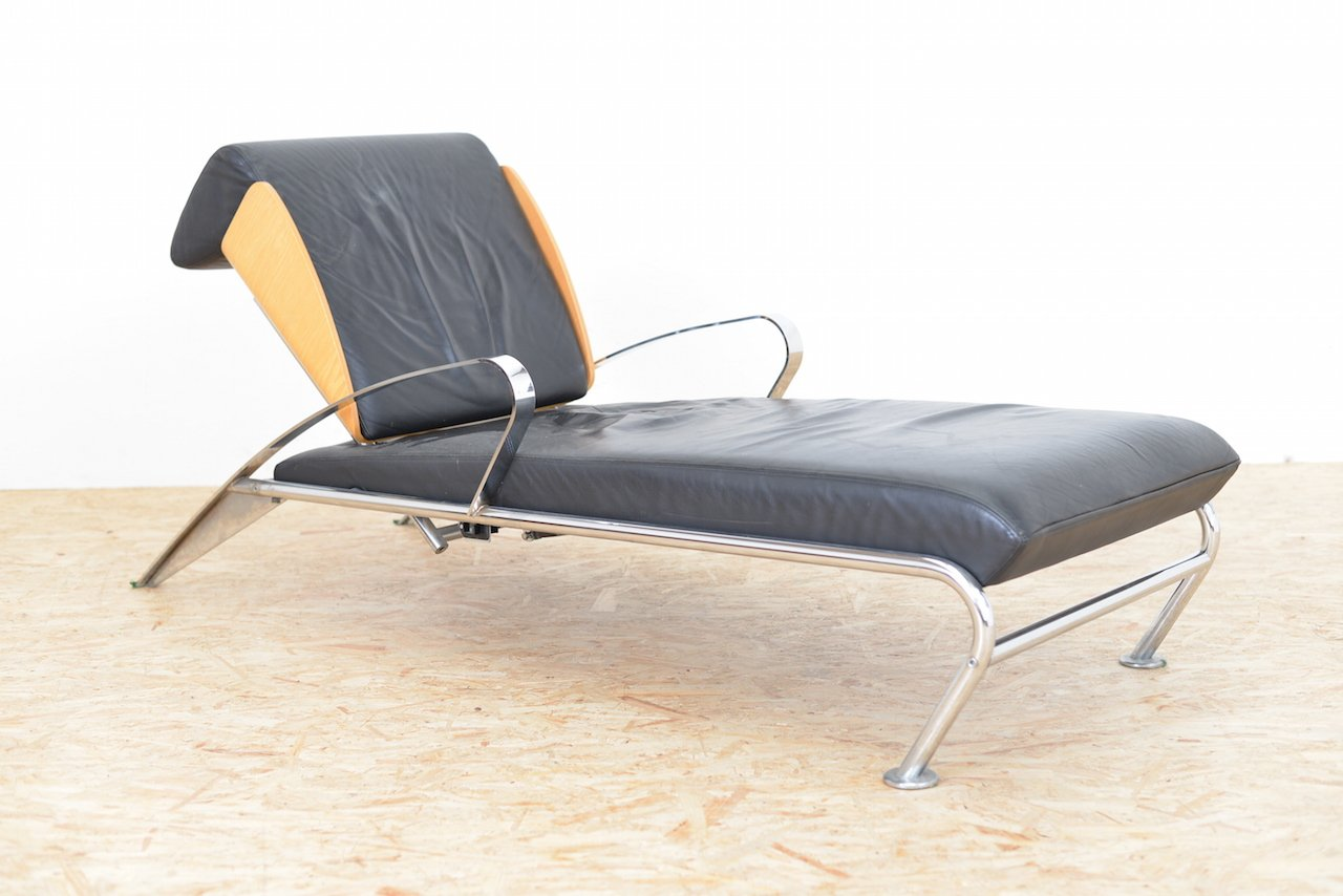 vintage italian futuro chaise lounge by massimo iosa ghin for moroso for sale at pamono. Black Bedroom Furniture Sets. Home Design Ideas