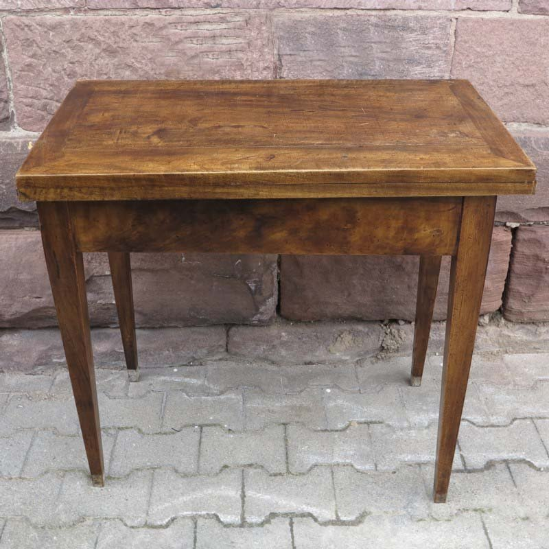 Small biedermeier folding dining table for sale at pamono - Small folding dining table ...