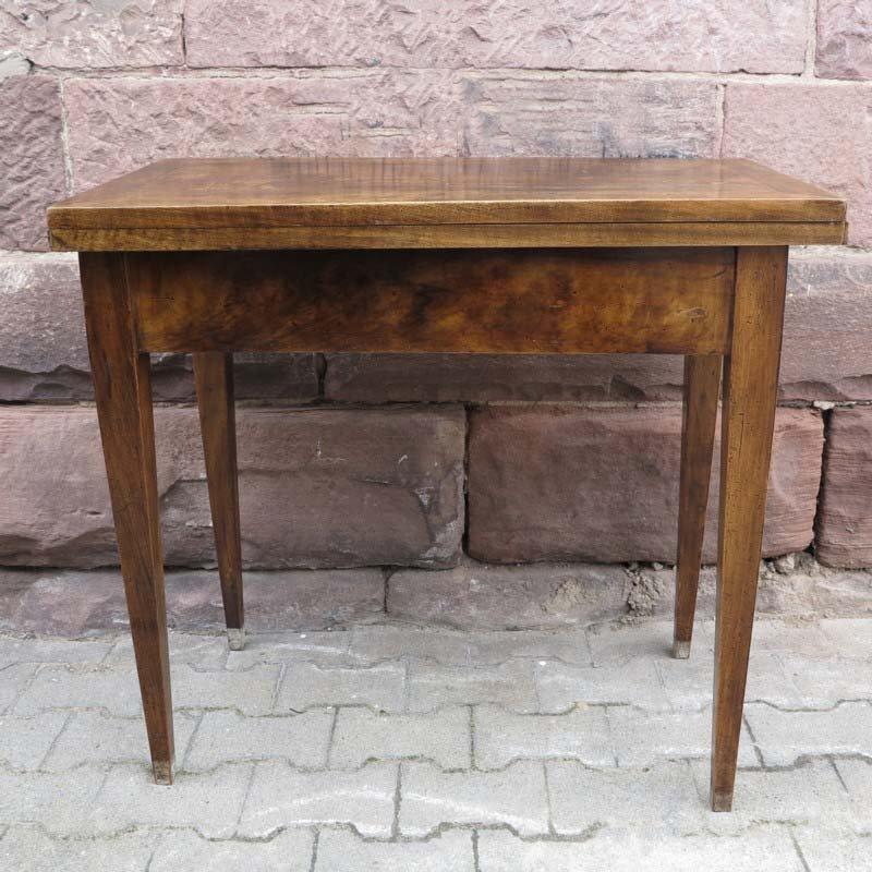 tavolo da pranzo pieghevole piccolo biedermeier in vendita