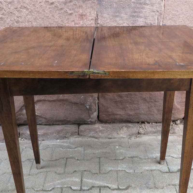 Small biedermeier folding dining table for sale at pamono for Small dining table for 6