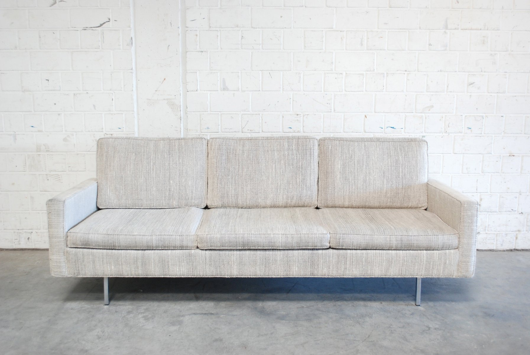 Model 25 BC Sofa and Chair by Florence Knoll for Knoll