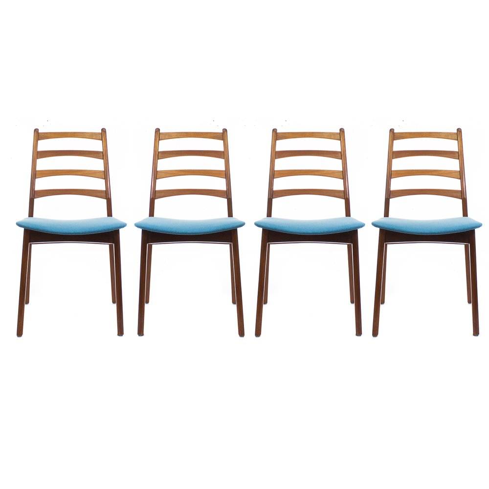 Vintage norwegian dining chairs set of for sale at pamono