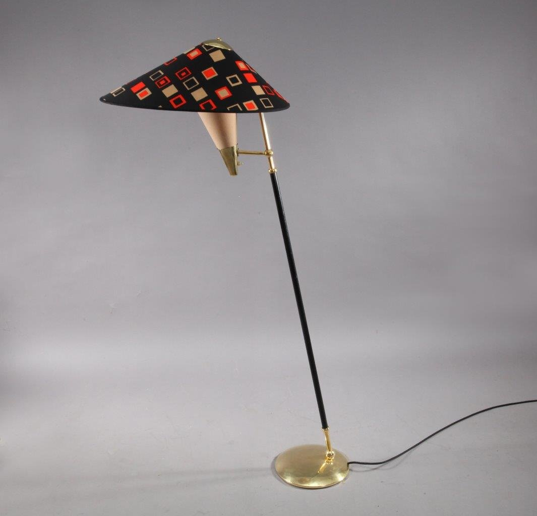 Mid century italian floor lamp from arredoluce 1950 for for 1950 floor lamp