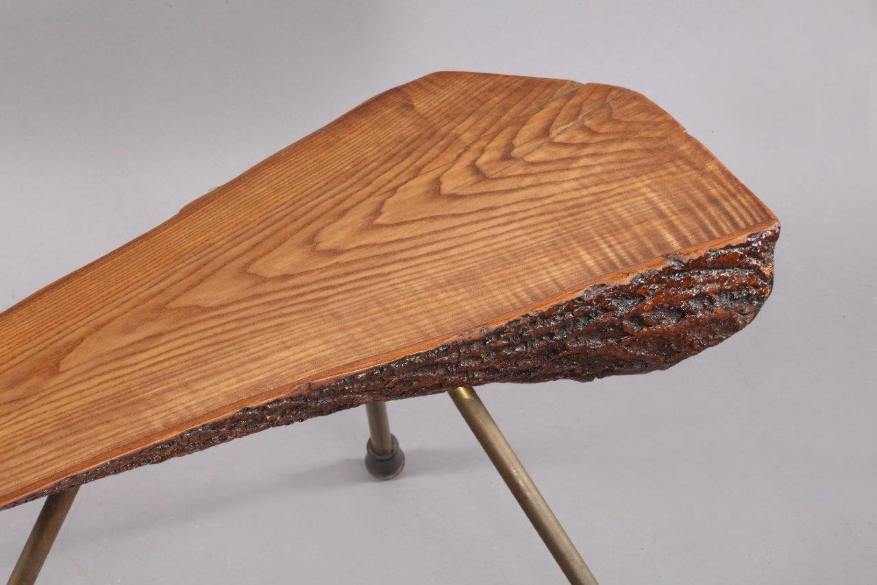 Mid Century Viennese Tree Trunk Coffee Table By Carl Aub Ck 1950s For Sale At Pamono