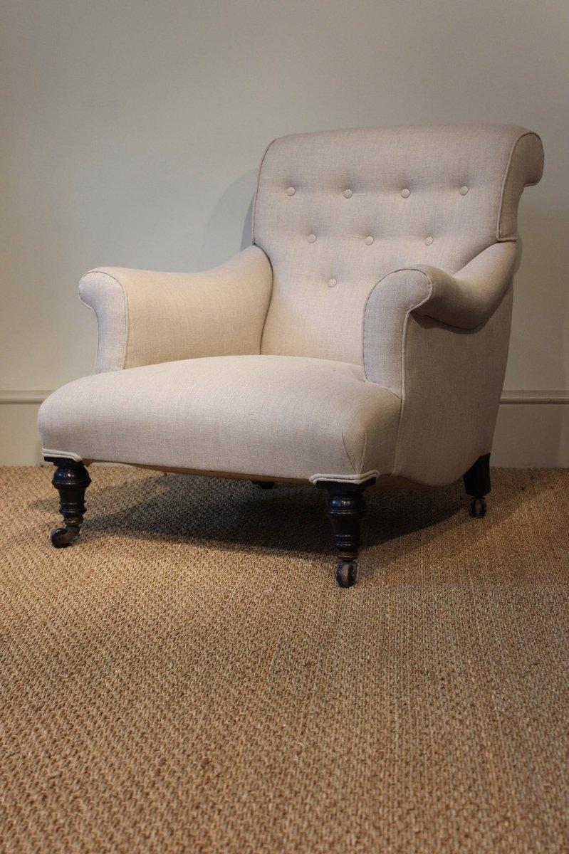 fauteuil antique victorien en vente sur pamono. Black Bedroom Furniture Sets. Home Design Ideas