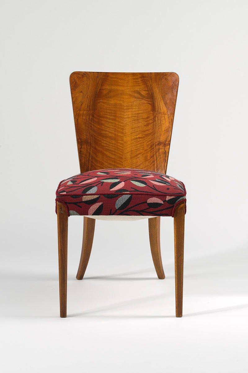 vintage esszimmerst hle von jind ich halabala f r up zavody 4er set bei pamono kaufen. Black Bedroom Furniture Sets. Home Design Ideas
