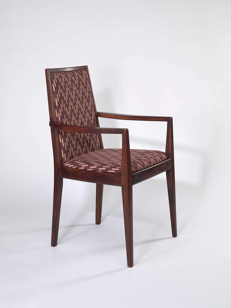 Brown Armchair Vintage Brown Armchair From Wiesner Hager 1958 For Sale At Pamono