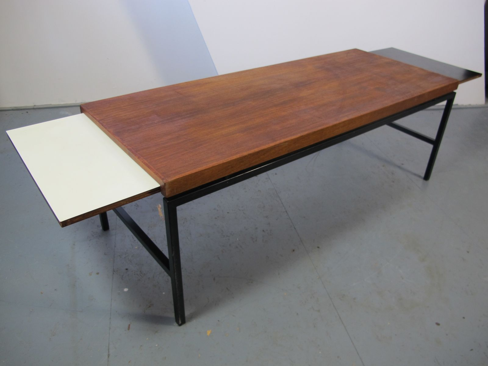 Modernist extendable coffee table 1960s for sale at pamono - Telescopic coffee table ...
