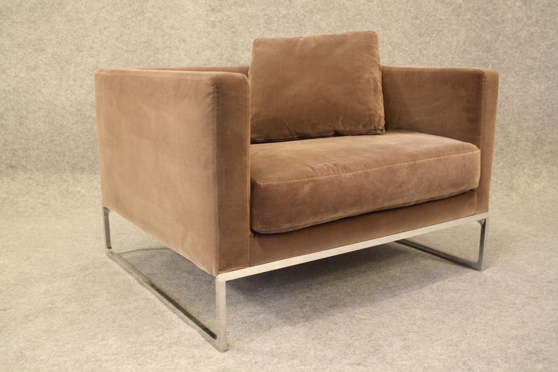 Model Tight Lounge Chair By Antonio Citterio For B B