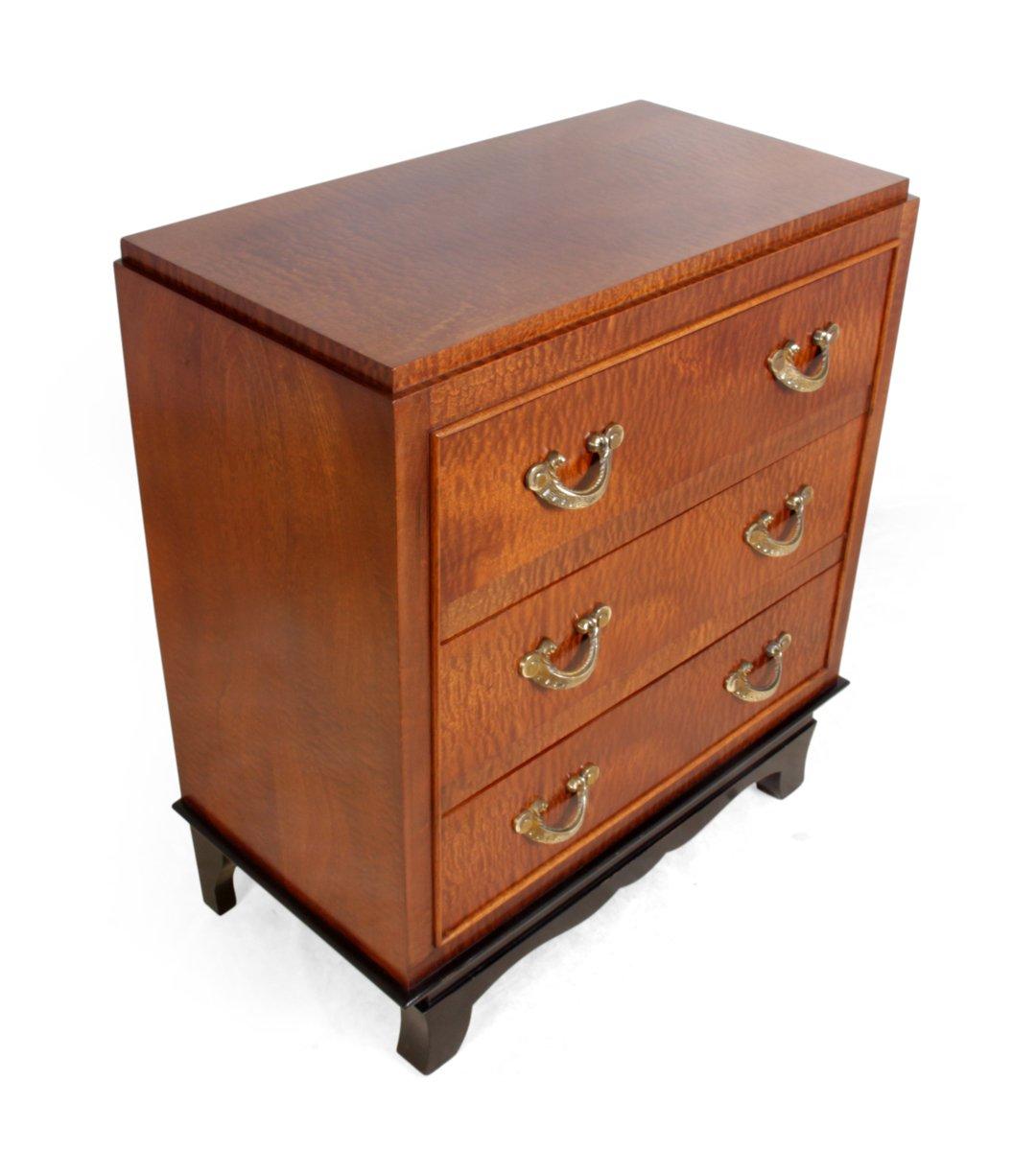 commode tiroirs art d co 1930s en vente sur pamono. Black Bedroom Furniture Sets. Home Design Ideas