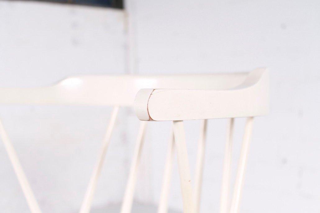 Chaise blanche su de 1950s en vente sur pamono for Chaise blanche solde