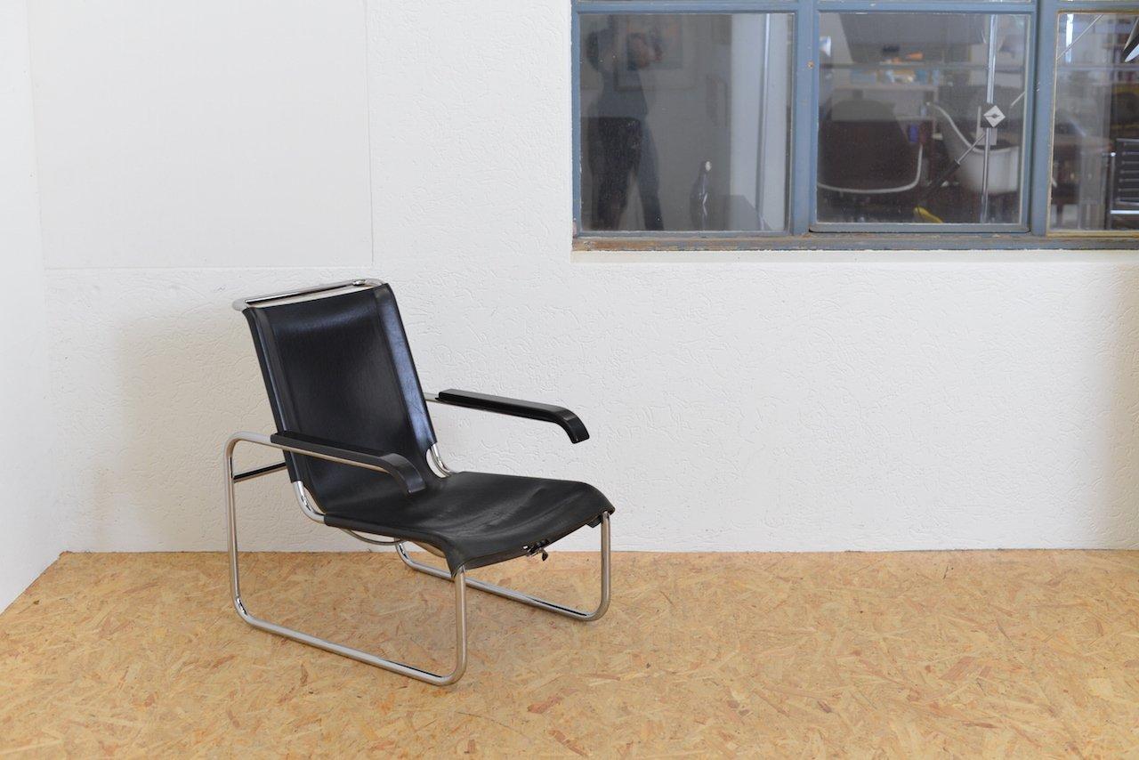 vintage sitzmaschine b35 stuhl von marcel breuer f r. Black Bedroom Furniture Sets. Home Design Ideas