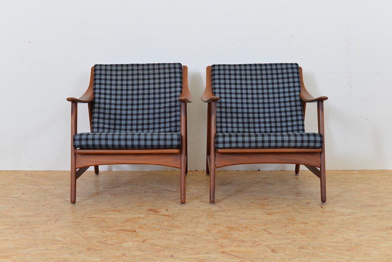 Elegant Vintage Armchairs By Arne Hovmand Olsen For Mogens Kold