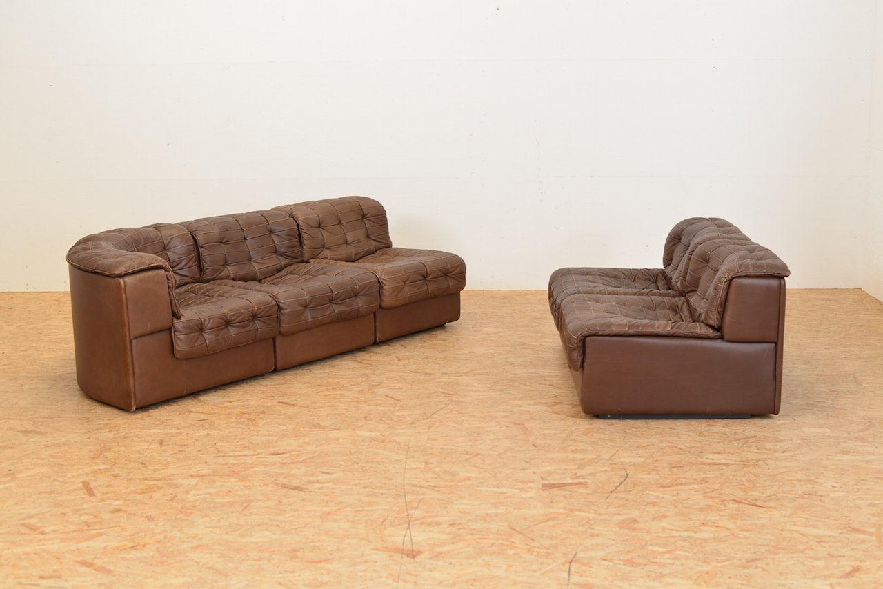 vintage ds11 modular sofa from de sede for sale at pamono. Black Bedroom Furniture Sets. Home Design Ideas