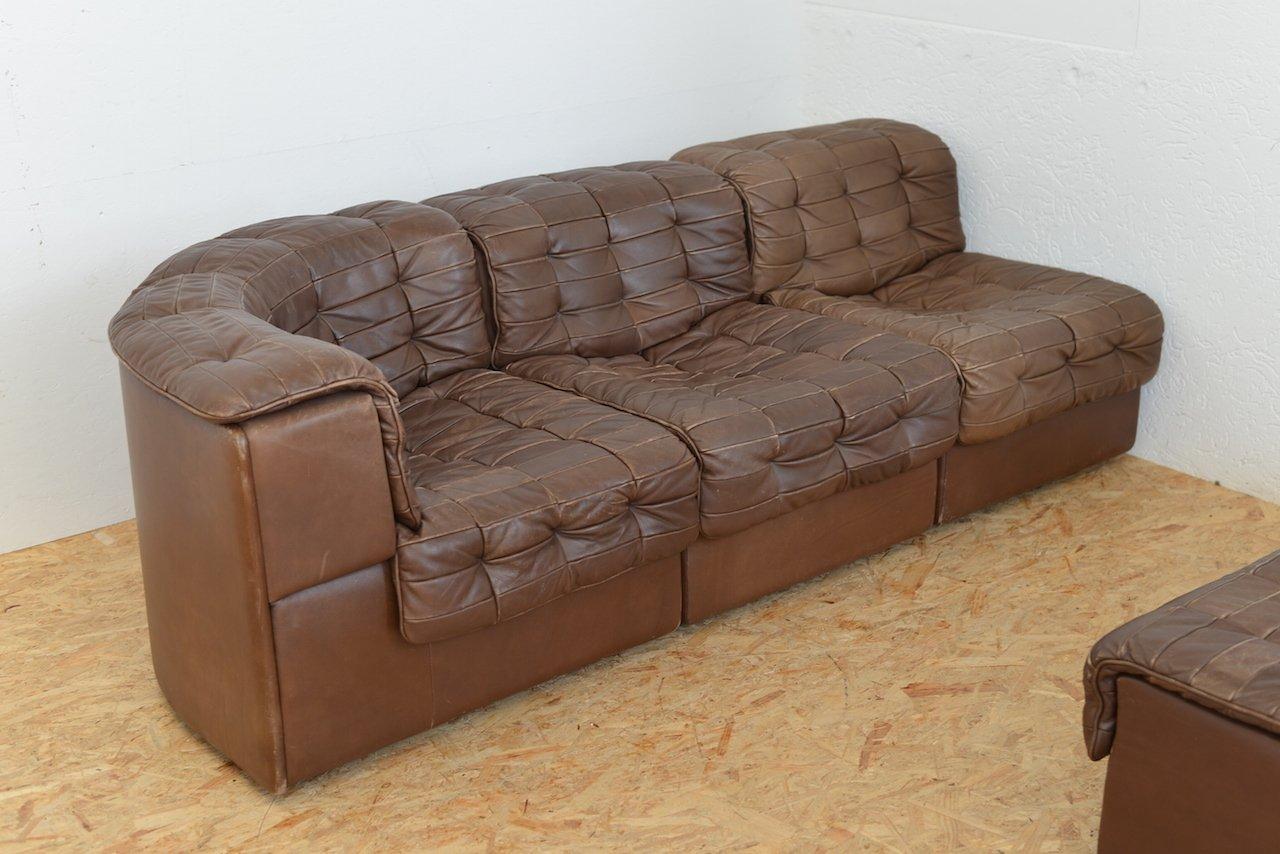 modulares vintage ds11 sofa von de sede bei pamono kaufen. Black Bedroom Furniture Sets. Home Design Ideas