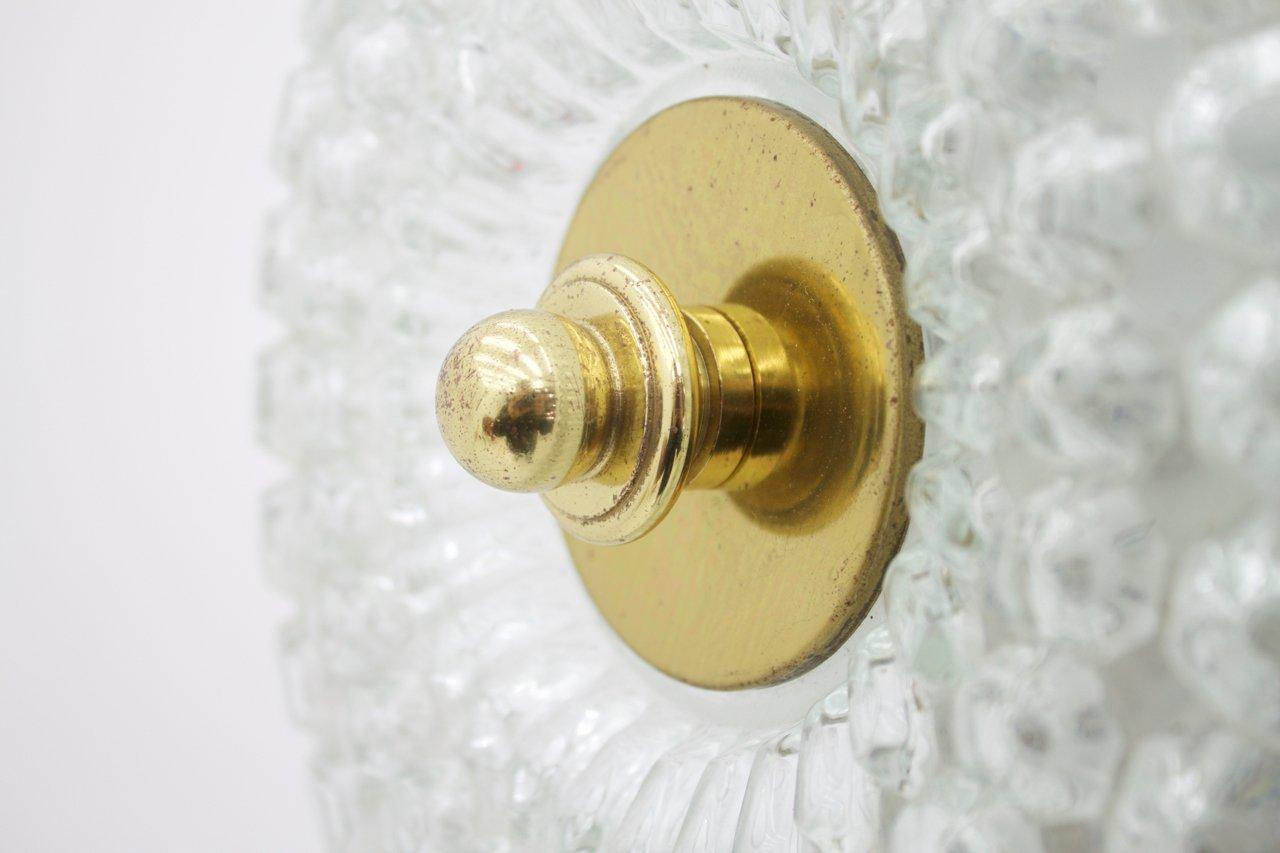 applique en verre et laiton de limburg 1960s en vente sur. Black Bedroom Furniture Sets. Home Design Ideas