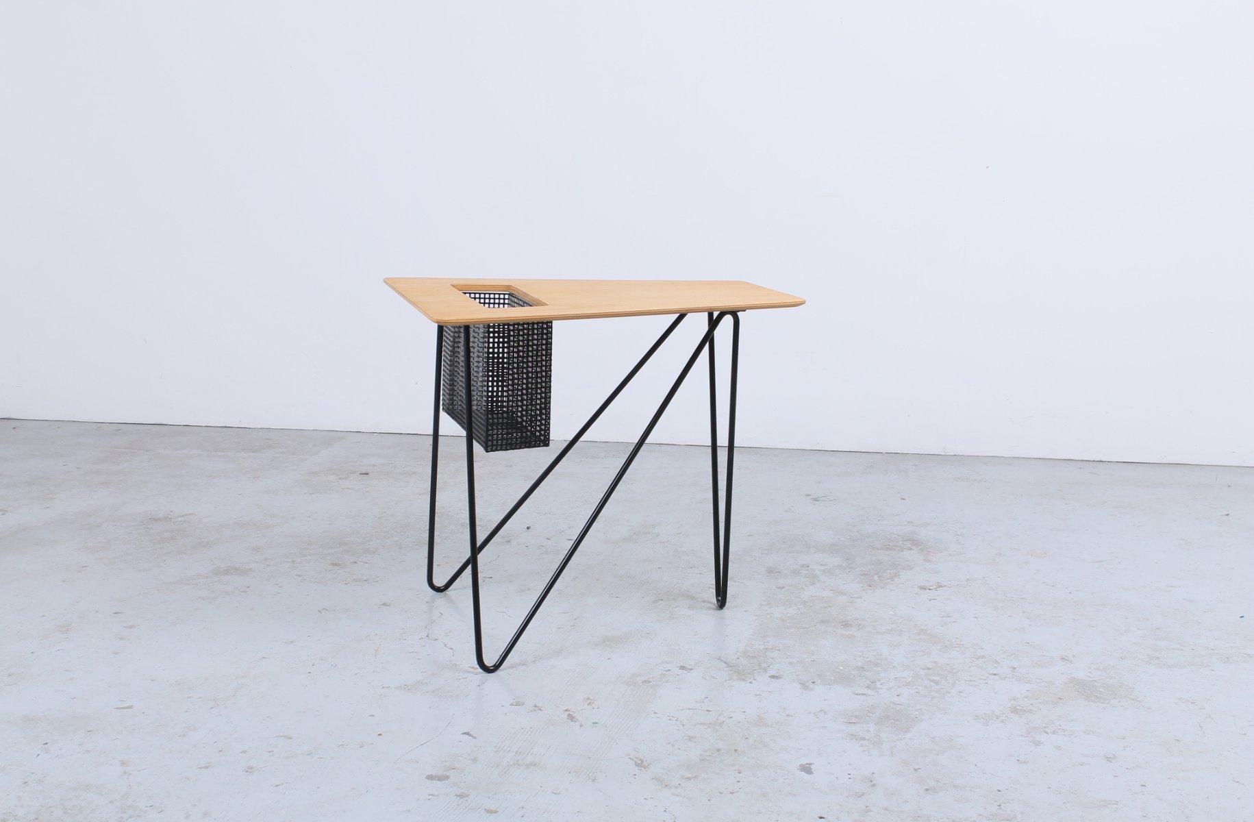 table-d-appoint-vintage-combex-series-et-porte-revues-par-cees-braakman-pour-pastoe-1 Impressionnant De Table Transformable Concept
