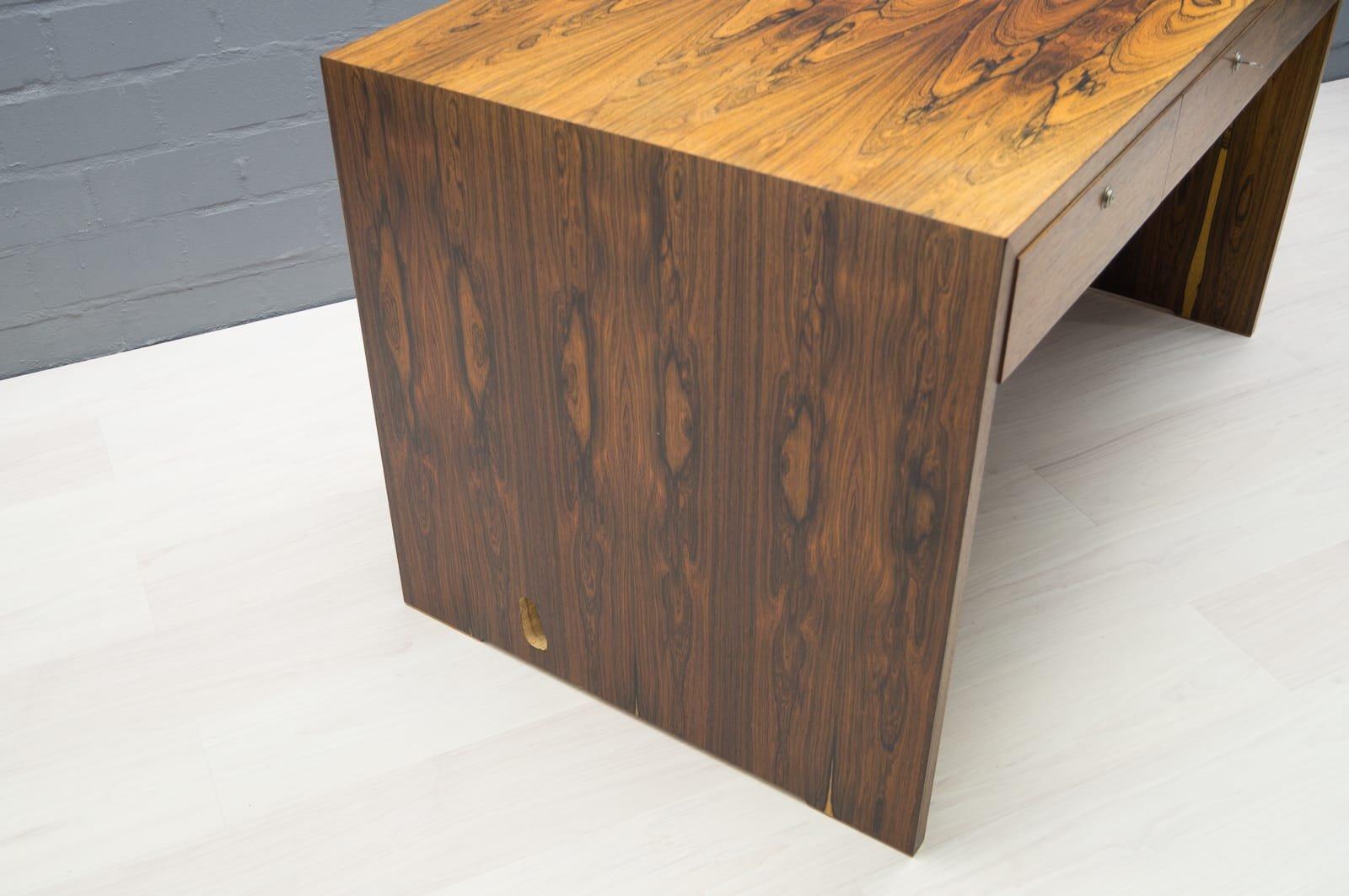 palisander schreibtisch 1960er bei pamono kaufen. Black Bedroom Furniture Sets. Home Design Ideas