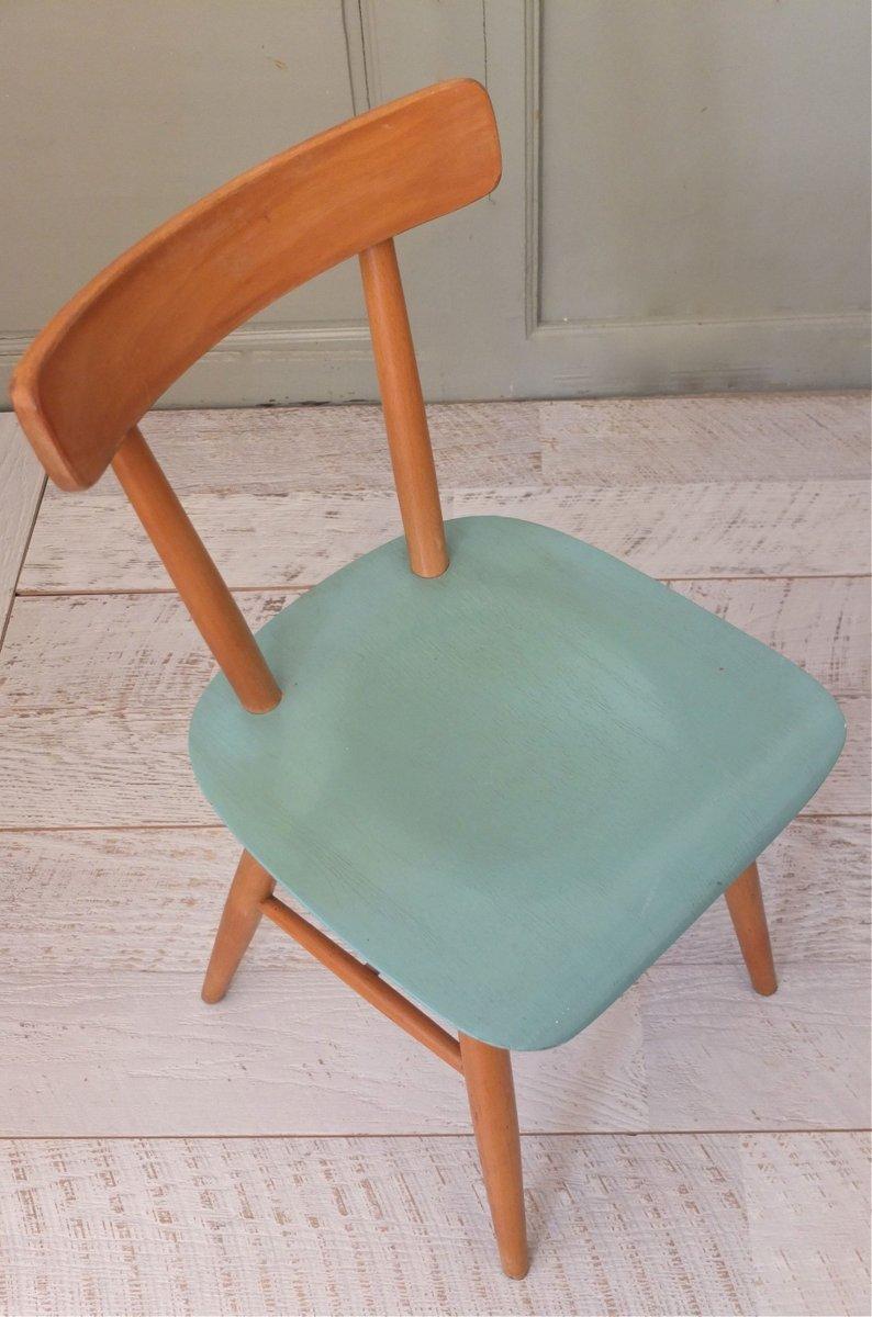 chaise en bois courb 1960s en vente sur pamono. Black Bedroom Furniture Sets. Home Design Ideas