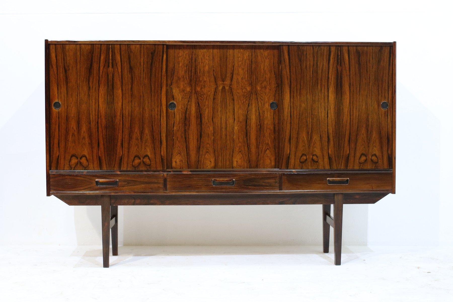 palisander sideboard 1960er bei pamono kaufen. Black Bedroom Furniture Sets. Home Design Ideas