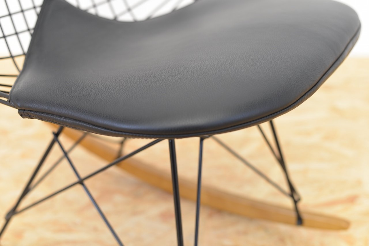wire rocking chair by ray and charles eames for vitra for sale at