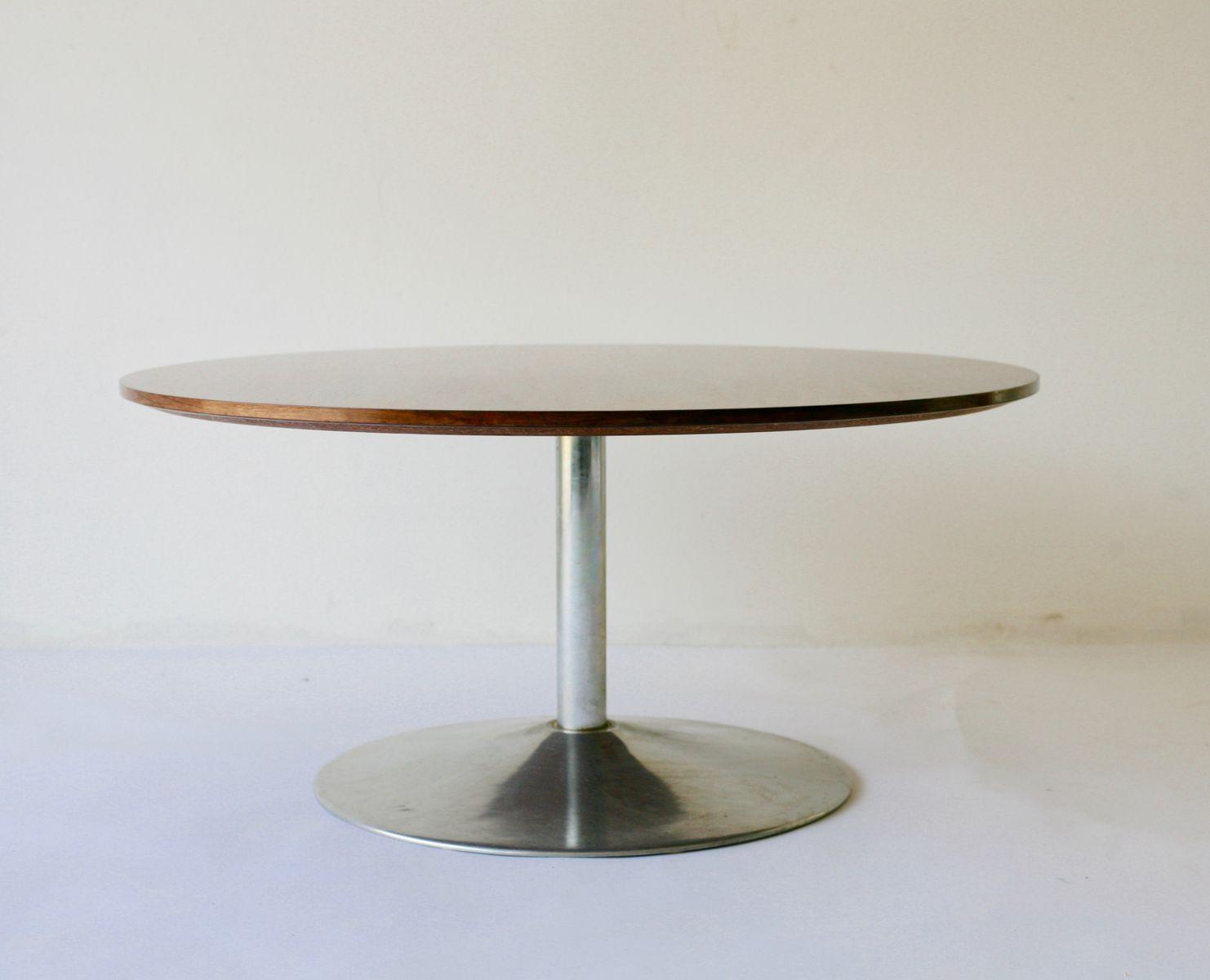 rosewood coffee table by verner panton for fritz hansen. Black Bedroom Furniture Sets. Home Design Ideas